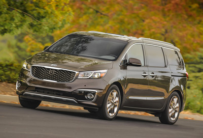 2017 Kia Sedona Earns 2016 Top Safety Pick+, Highest Possible Safety Rating From the Insurance Institute for Highway Safety