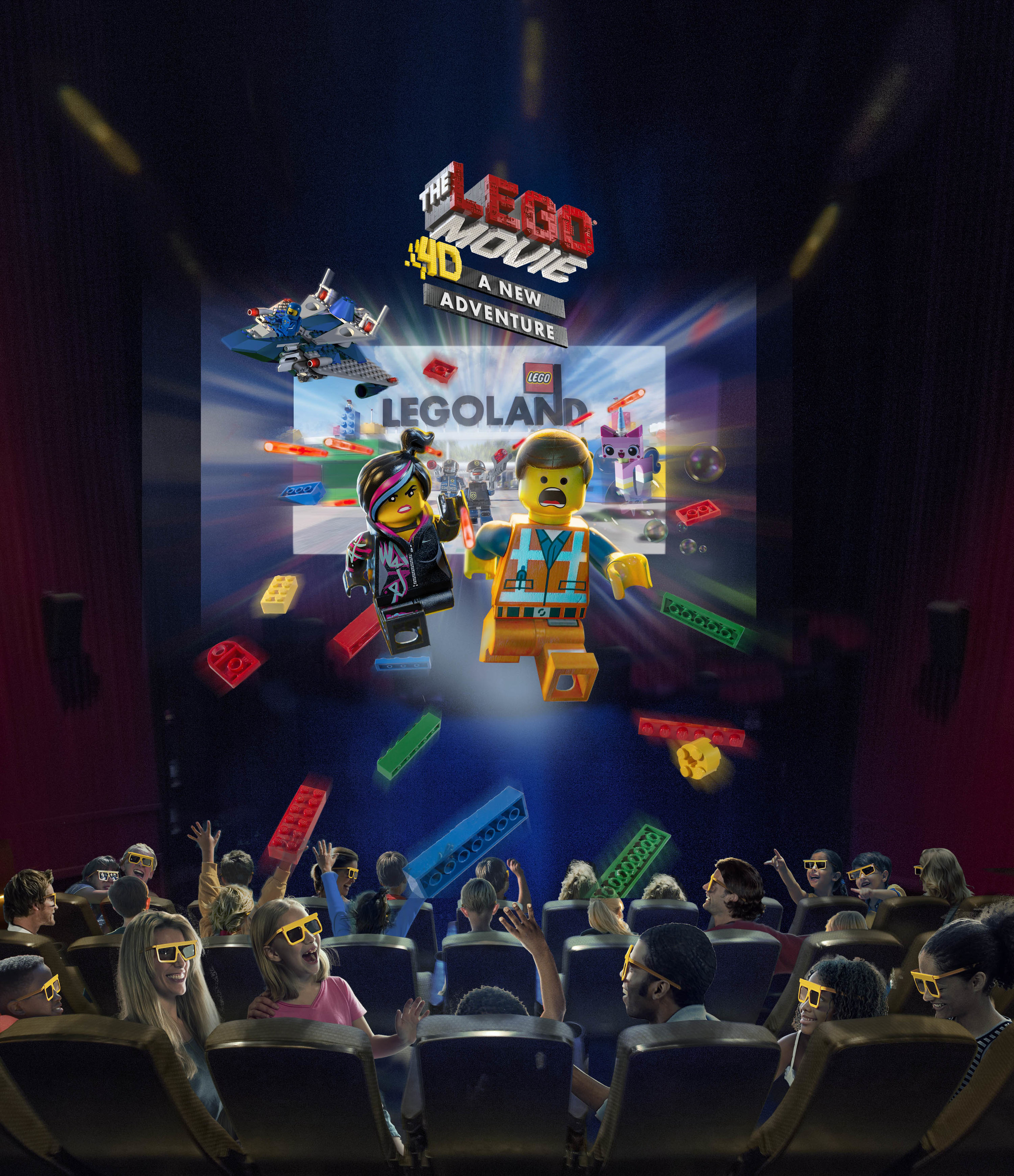 'The LEGO' Movie 4D A New Adventure' Brings Awesome Back Exclusively To LEGOLAND' Parks And LEGOLAND' Discovery Centers Worldwide In January 2016!