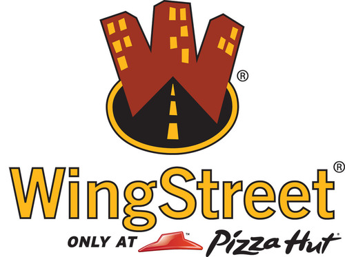 Pizza Hut WingStreet logo.  (PRNewsFoto/Pizza Hut)