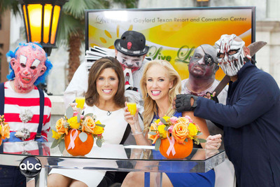 Tune into Live Love Laugh Today(TM) with Linda Cooper and Susie McAuley on Sunday, October 20th at 11AM on ABC Network, WFAA-Channel 8 for a Spooky Good Time. (PRNewsFoto/Live Love Laugh Today TV)