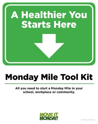 The Monday Mile is part of The Monday Campaigns, which encourages people of all fitness levels to get moving each week starting on Monday. Use this free Monday Mile Starter Kit to start your own walking program.