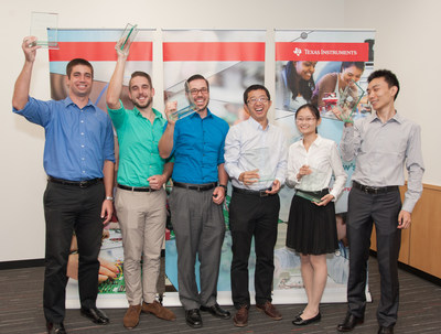 Six future engineers were recognized in the 2015 TI Innovation Challenge North America Design Contest for projects that solve real-world problems.
