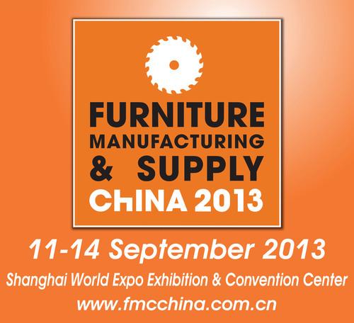 FMC China 2013, September 11-14, 2013, Woodworking Machinery & Furniture Raw Materials, Shanghai, China.  (PRNewsFoto/Sinoexpo)