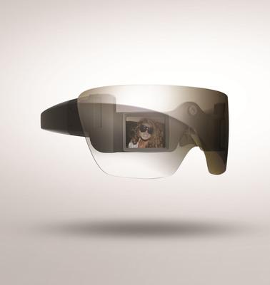 GL20 Camera Glasses.  (PRNewsFoto/Polaroid)