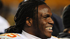 Jamaal Charles launches vamp! mobile app by MoZeus.  (PRNewsFoto/MoZeus Worldwide)