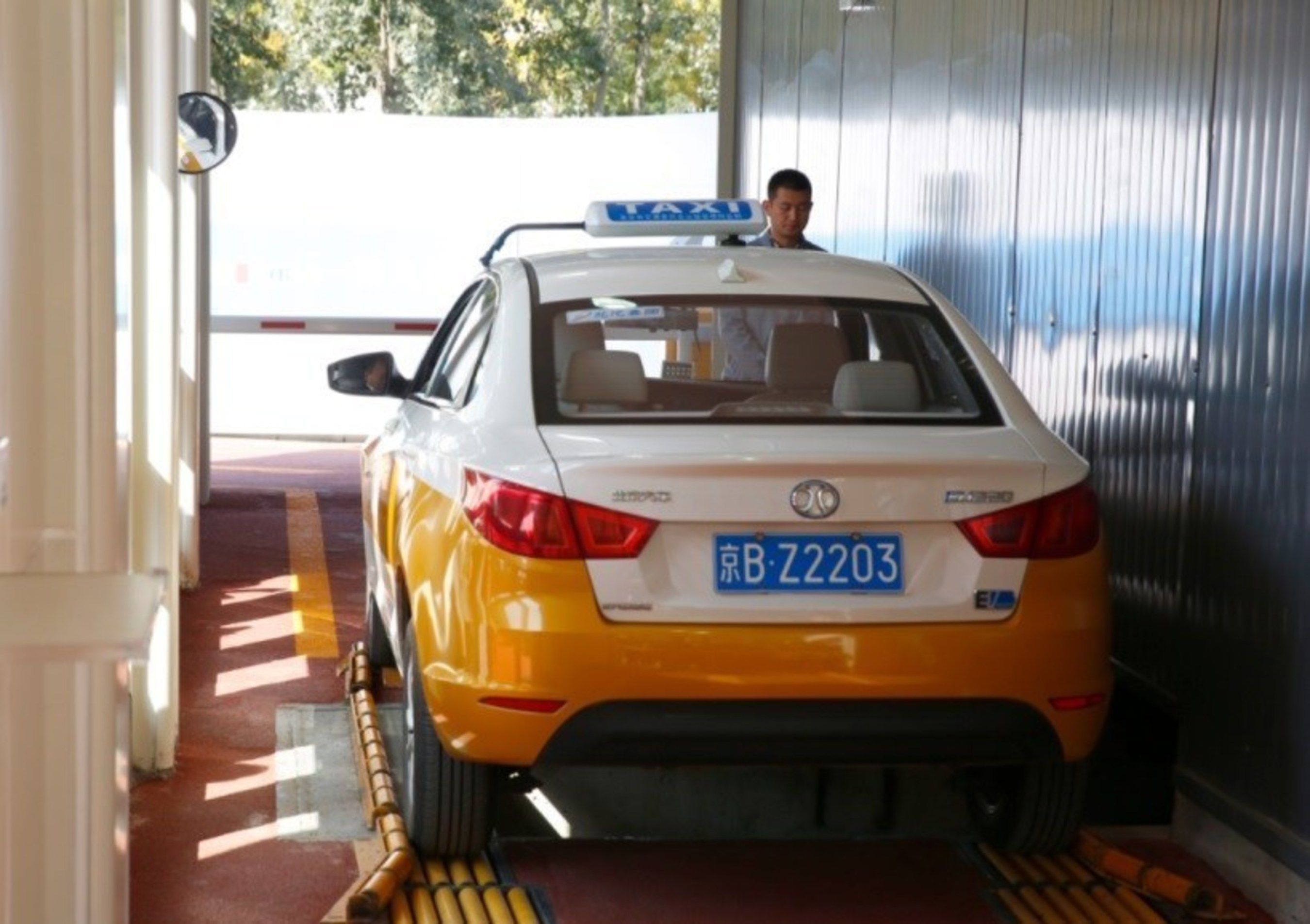 BAIC BJEV Battery Switchable Electric Taxi - EU220