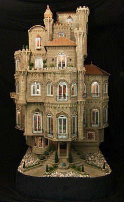 Astolat Dollhouse Castle is the world's most valuable dollhouse, recently appraised at $8.5 million, and has never been seen by the general public. The dollhouse, which weighs over 800 pounds and stands 9 feet tall, will be on display this holiday season in New York City to raise money for children's charities. The museum quality dollhouse has 29 rooms including a wizard's tower, wine cellar and ballroom and contains over 10,000 handmade interior pieces from artisans around the world. More photos and a video can be seen at www.astolatdollhousecastle.com www.facebook.com/astolat-doll-house-castle on twitter at @dollhousecastle