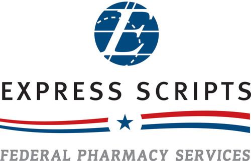 Express Scripts Federal Pharmacy Services logo.  (PRNewsFoto/Express Scripts)