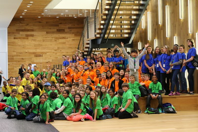 Bayer Hosts over 200 children at Take Your Child To Work Day