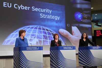 EU NewsBrief: EU Lays Out Cybersecurity Strategy. (PRNewsFoto/Delegation of the European Union to the United States, Photo credit: European Commission) (PRNewsFoto/DELEGATION OF THE EU TO ...)
