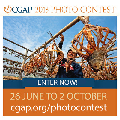 Enter the 2013 CGAP Photo Contest at cgap.org/photocontest.  (PRNewsFoto/CGAP)
