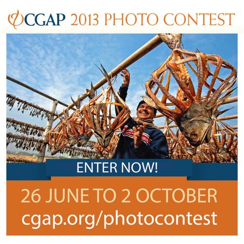 CGAP-Fotowettbewerb 2013 nimmt jetzt Einsendungen an