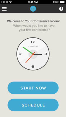 Start and schedule conference calls-without PINs-right from the iPhone app with UberConference Pro