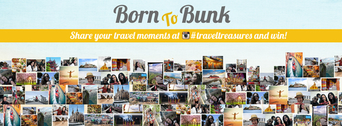 BornToBunk.com #TravelTreasures Contest (PRNewsFoto/Glocal Hospitality Solutions)