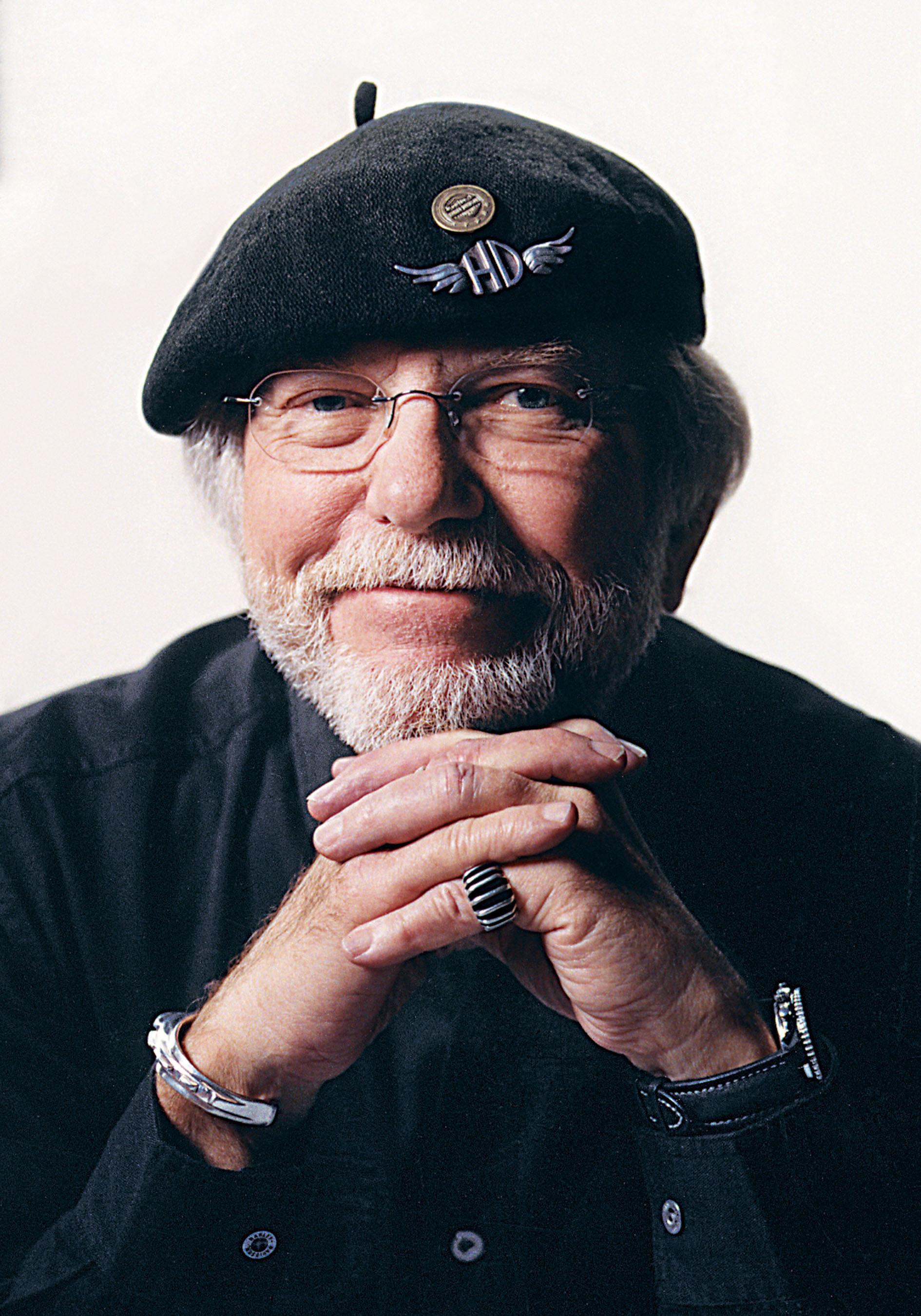 Willie G. Davidson.  (PRNewsFoto/Harley-Davidson, Inc.)