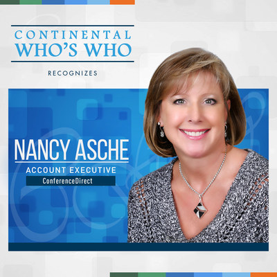 Nancy Asche is recognized by Continental Who's Who