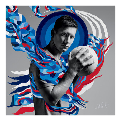"""From Pitch To Canvas: Pepsi® Celebrates """"The Art Of Football"""""""