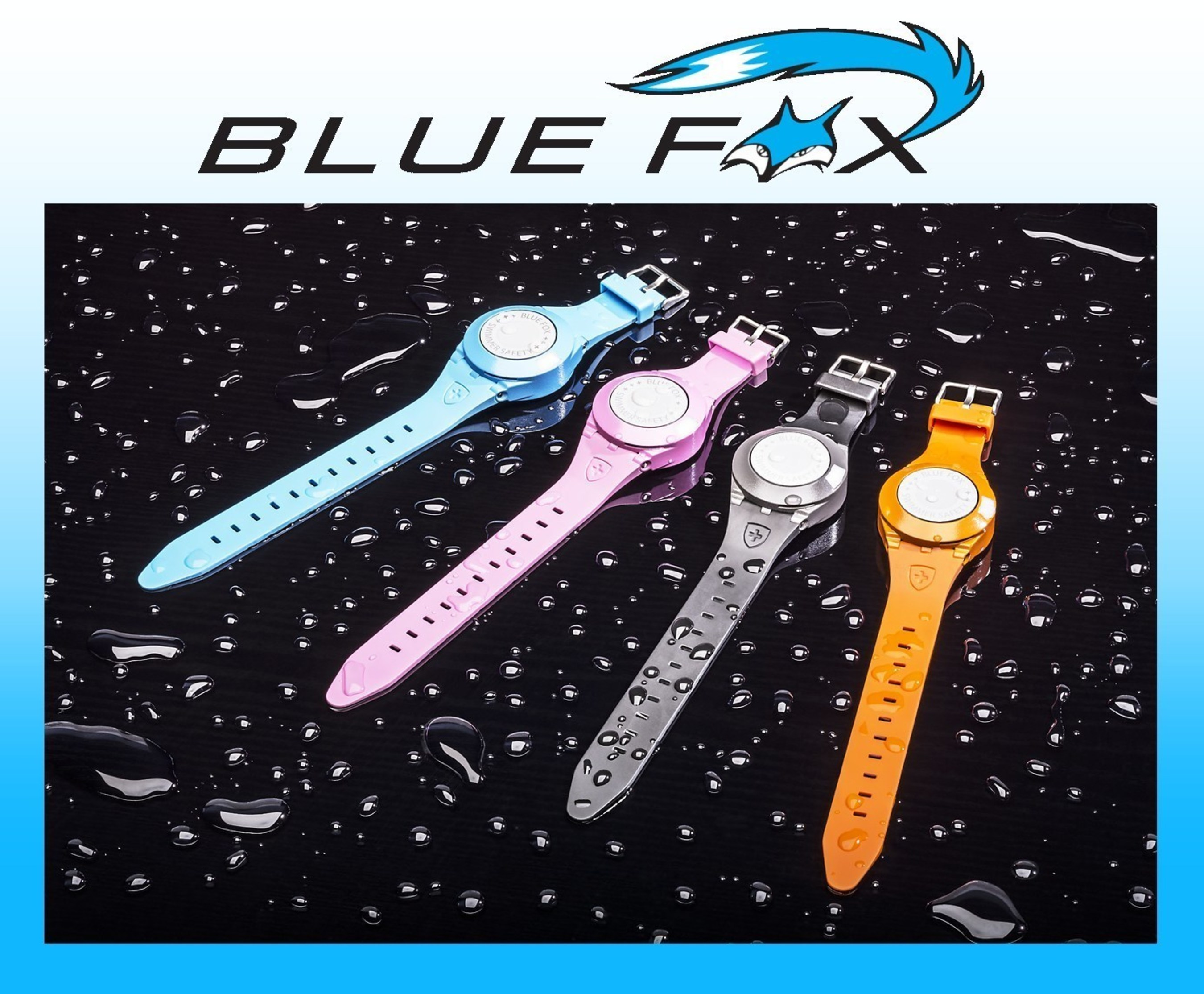 BlueFox Launches the World's First Anti-Drowning Bracelet