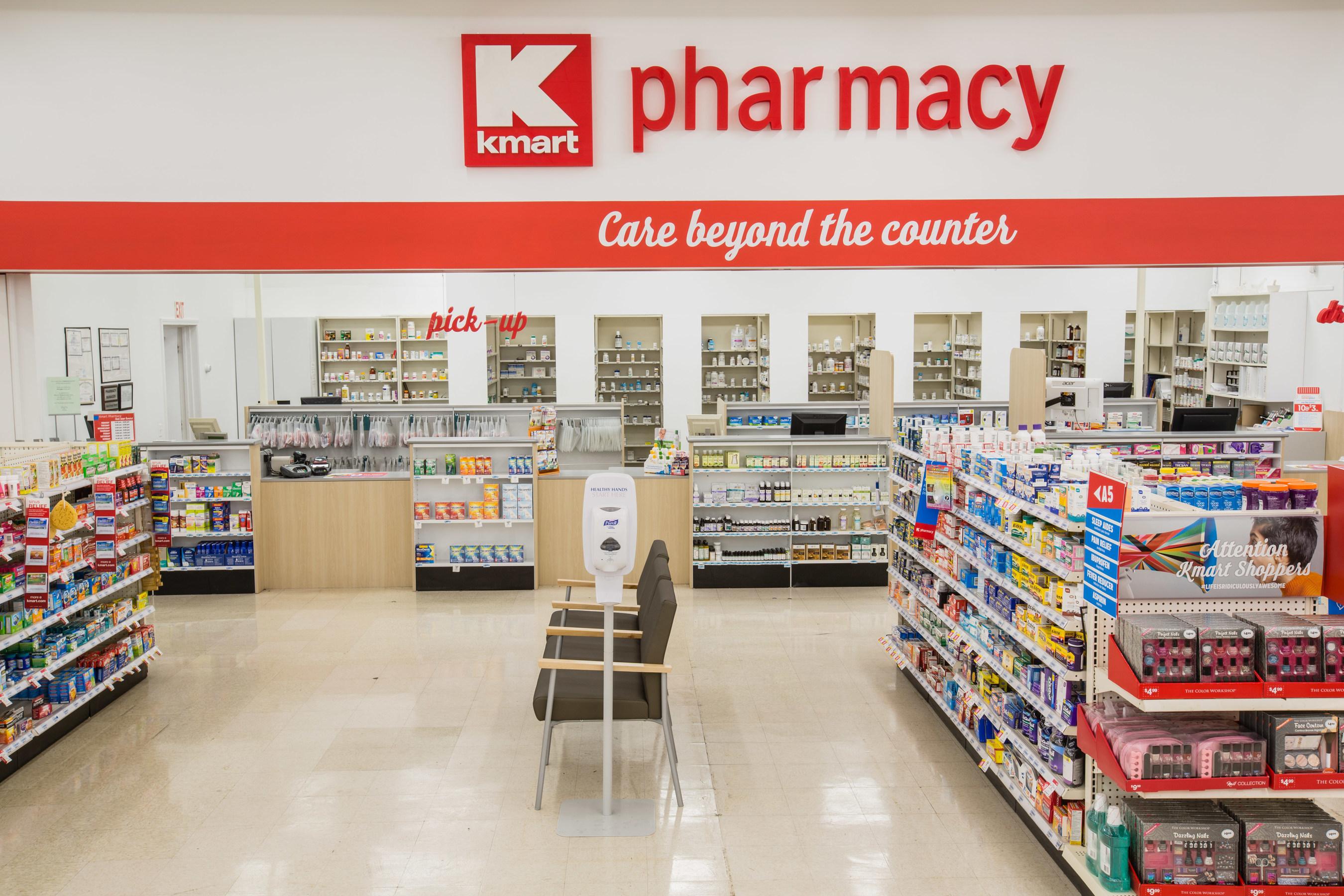 Kmart Pharmacy Announces Copays as Low as $1* with Medicare Part D.