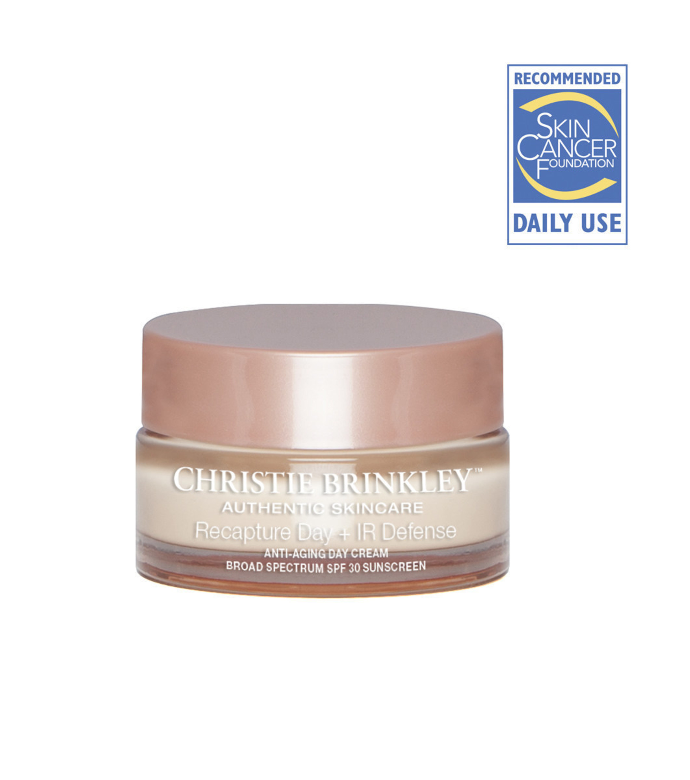 Christie Brinkley Authentic Skincare Line Receives The Skin Cancer