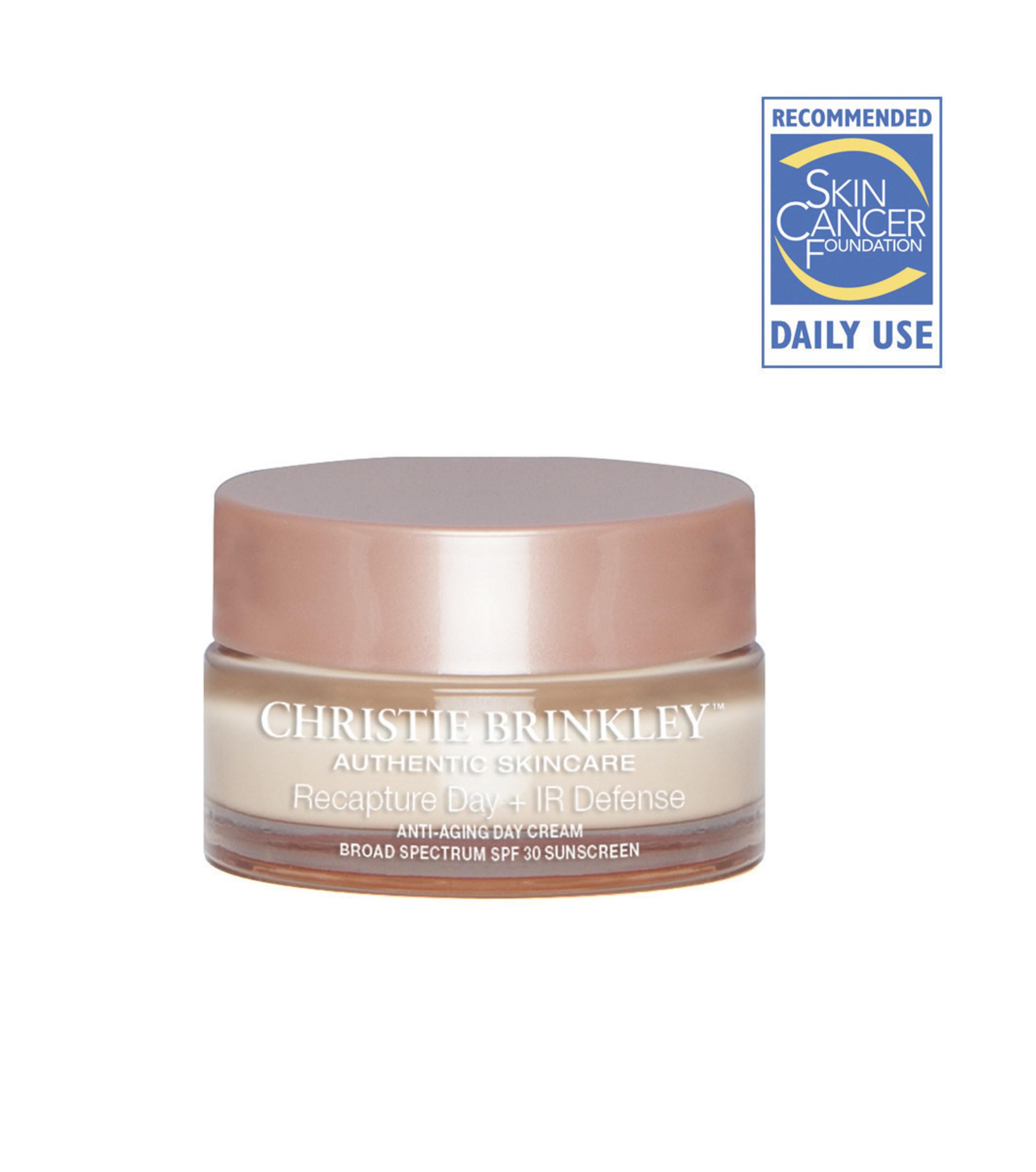 Christie Brinkley Authentic Skincare Recapture Day + IR Defense Anti-Aging Treatment