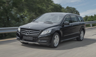 AM General Rolls Out First Mercedes-Benz R-Class Luxury Vehicle