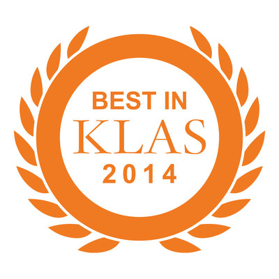 Best in KLAS 2014 logo