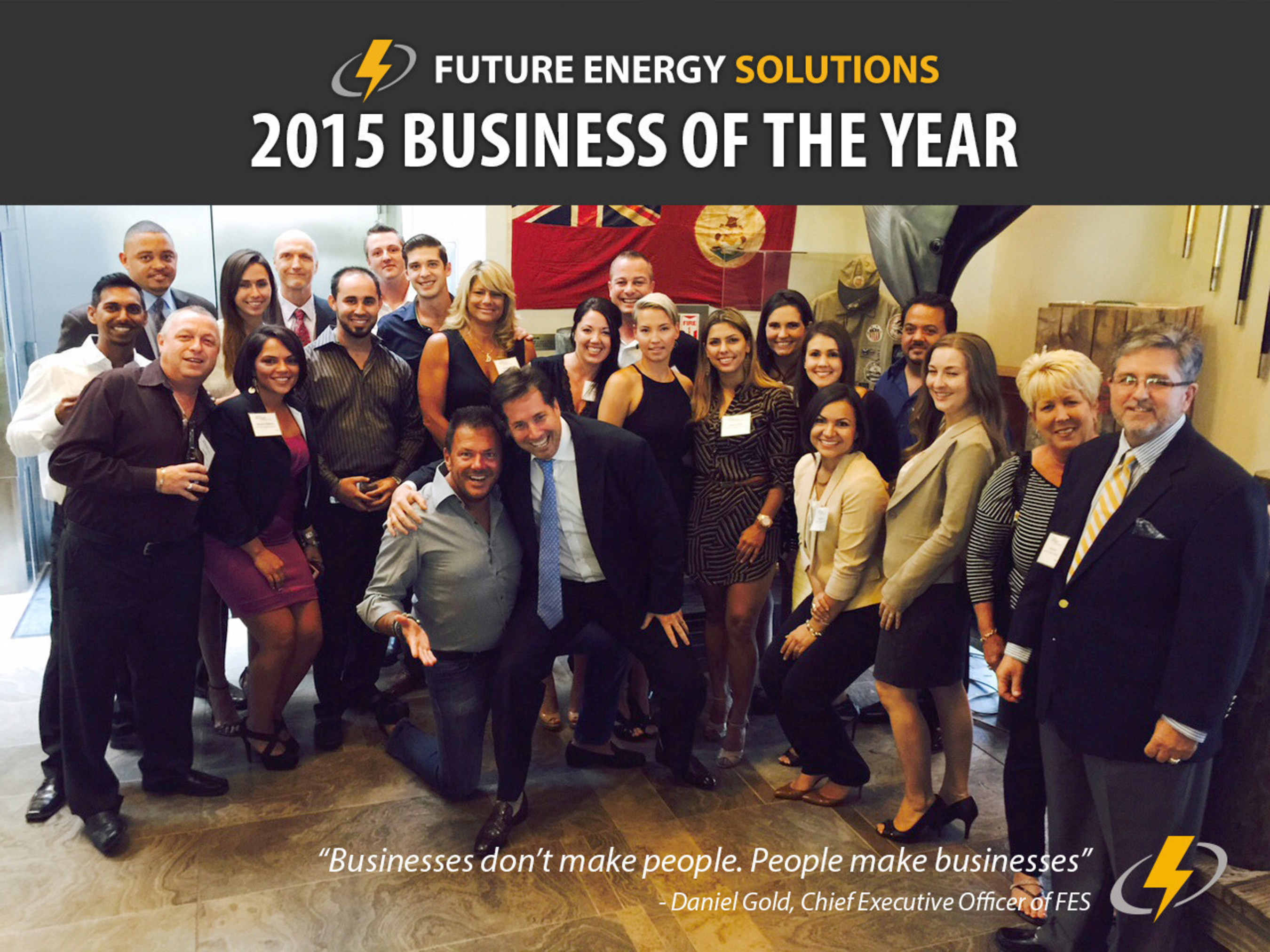 Future Energy Solutions, 2015 Business of the Year