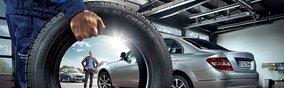 The service team at Mercedes-Benz of North Haven is capable of properly tuning your vehicle for spring weather. (PRNewsFoto/Mercedes-Benz of North Haven)