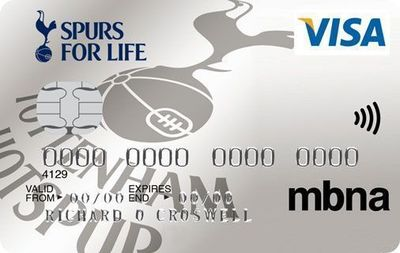 Tottenham Hotspur and MBNA Announce Extended Credit Card Affinity Agreement