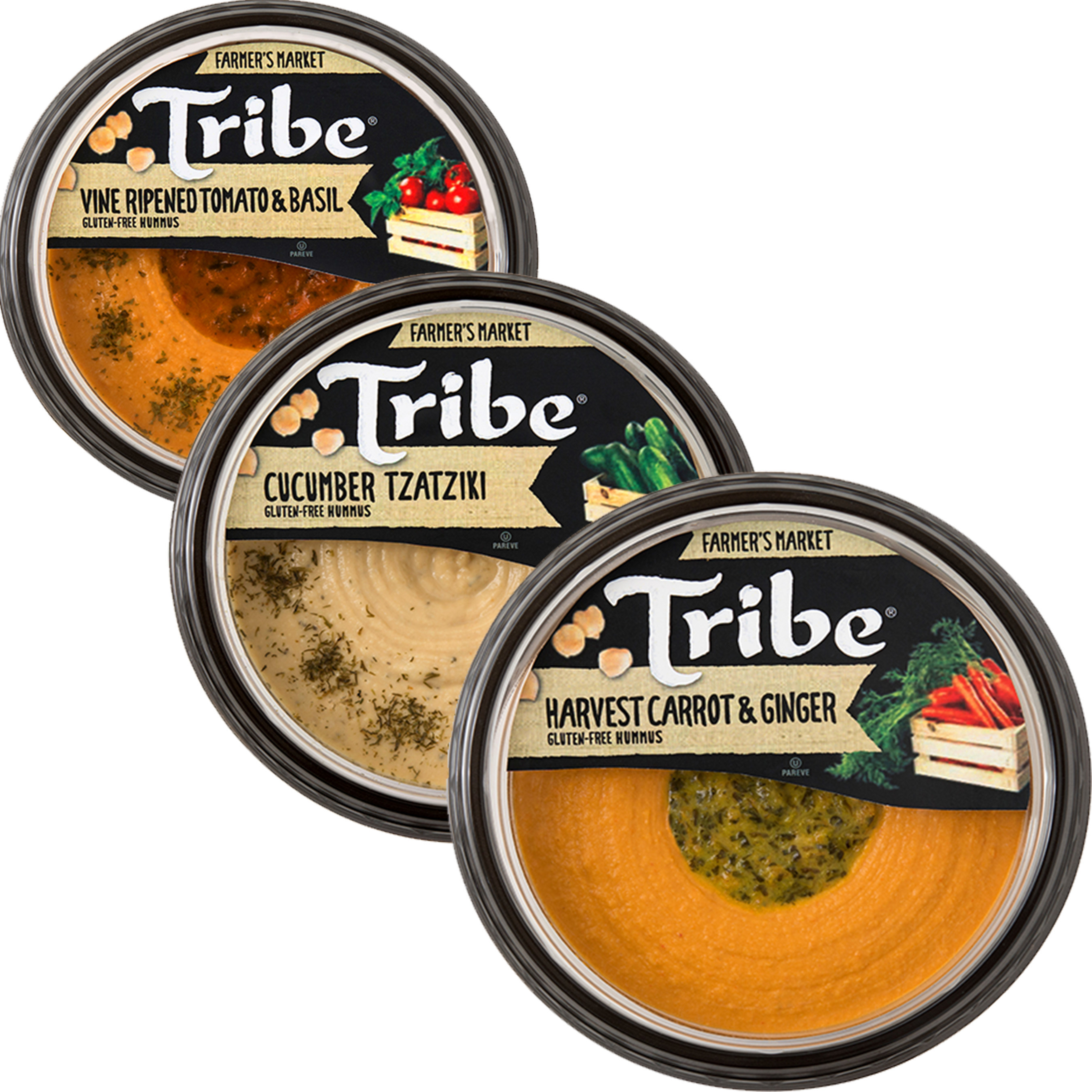 Tribe Hummus Debuts Latest Fruits (And Vegetables) Of Its Labor