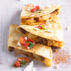 Potato and Chorizo Dobladas, www.potatogoodness.com.  (PRNewsFoto/United States Potato Board)