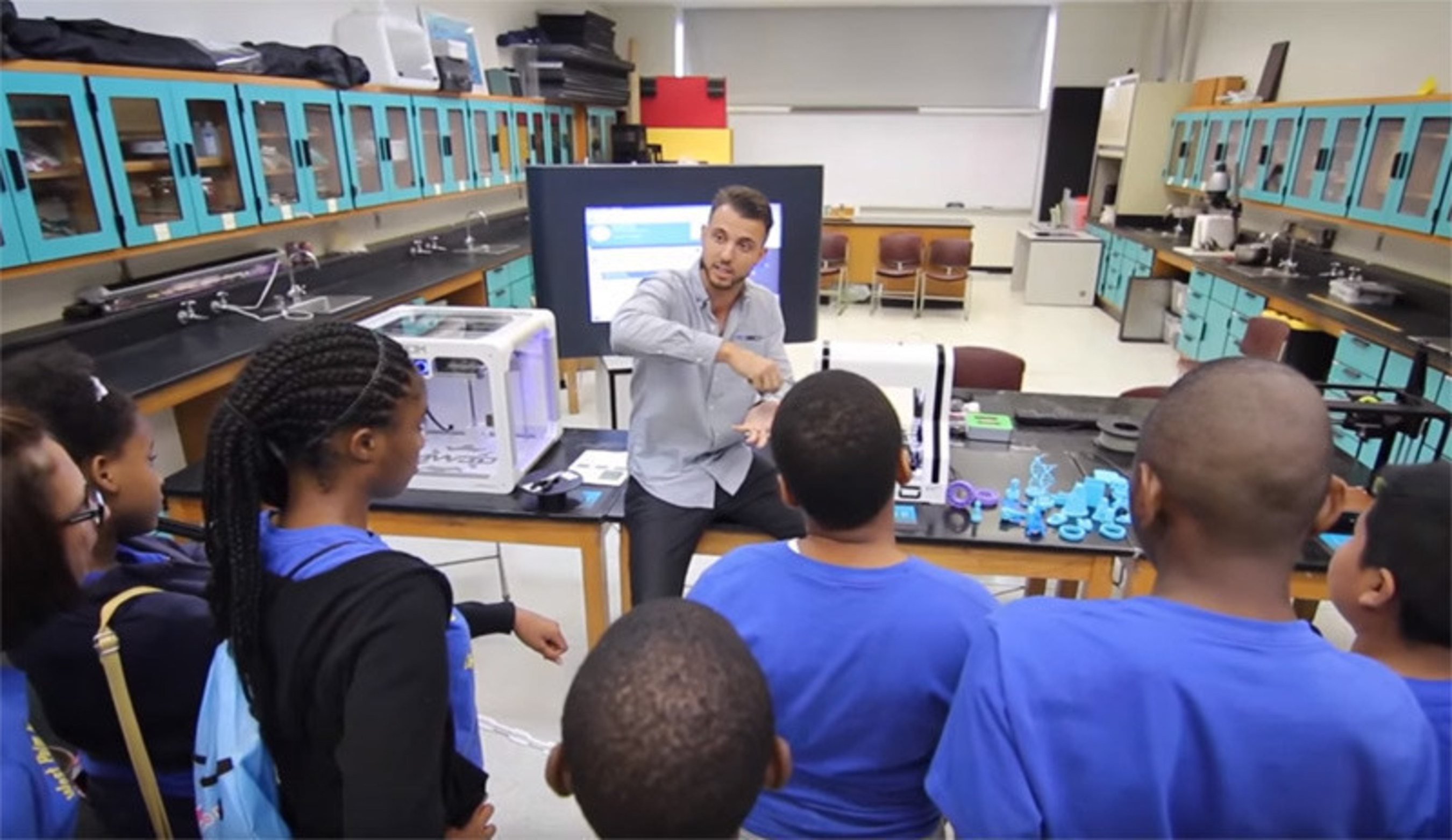 Startup Becoming 3D Partners with Ft. Lauderdale Museum of Discovery & Science to Build 3D Printing Lab
