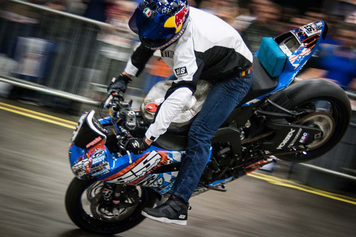 "Catch Aaron Twite and Chris ""Teach"" McNeil of XDL Street Jam perform at Jacob K. Javits Center! THIS WEEKEND ONLY! Get tickets at MotorcycleShows.com!  (PRNewsFoto/Progressive International Motorcycle Shows)"