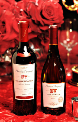 Beaulieu Vineyard Georges de Latour Pours on the Red for Television's Biggest Night at Primetime Emmy Awwards Governors Ball.  (PRNewsFoto/Beaulieu Vineyard)