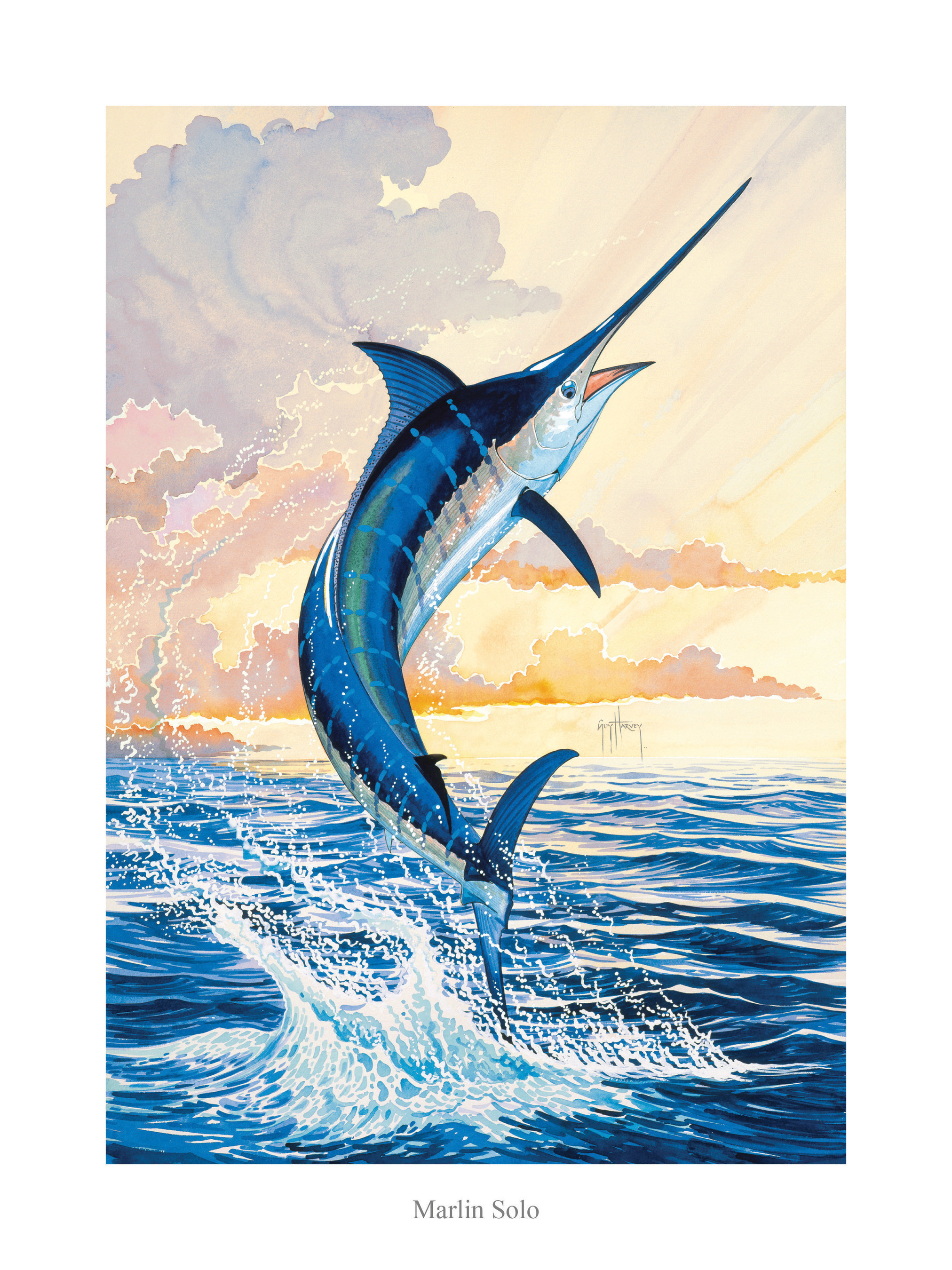 Park West Gallery signs artist Guy Harvey