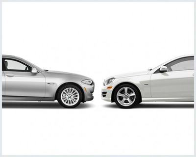 Top Luxury Cars Battle It Out in Online Comparison. See Who Wins. (PRNewsFoto/Aristocrat Motors)