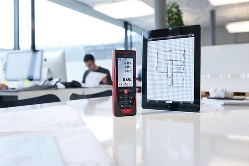 "The Leica DISTO D810â""¢ touch - a handheld laser distance meter, and one of the finalists in the Bluetooth ..."