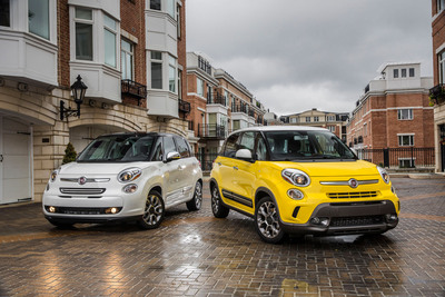 All-new 2014 Fiat 500L expands the FIAT Brand's product lineup and its commitment to innovative cars.  (PRNewsFoto/Chrysler Group LLC)