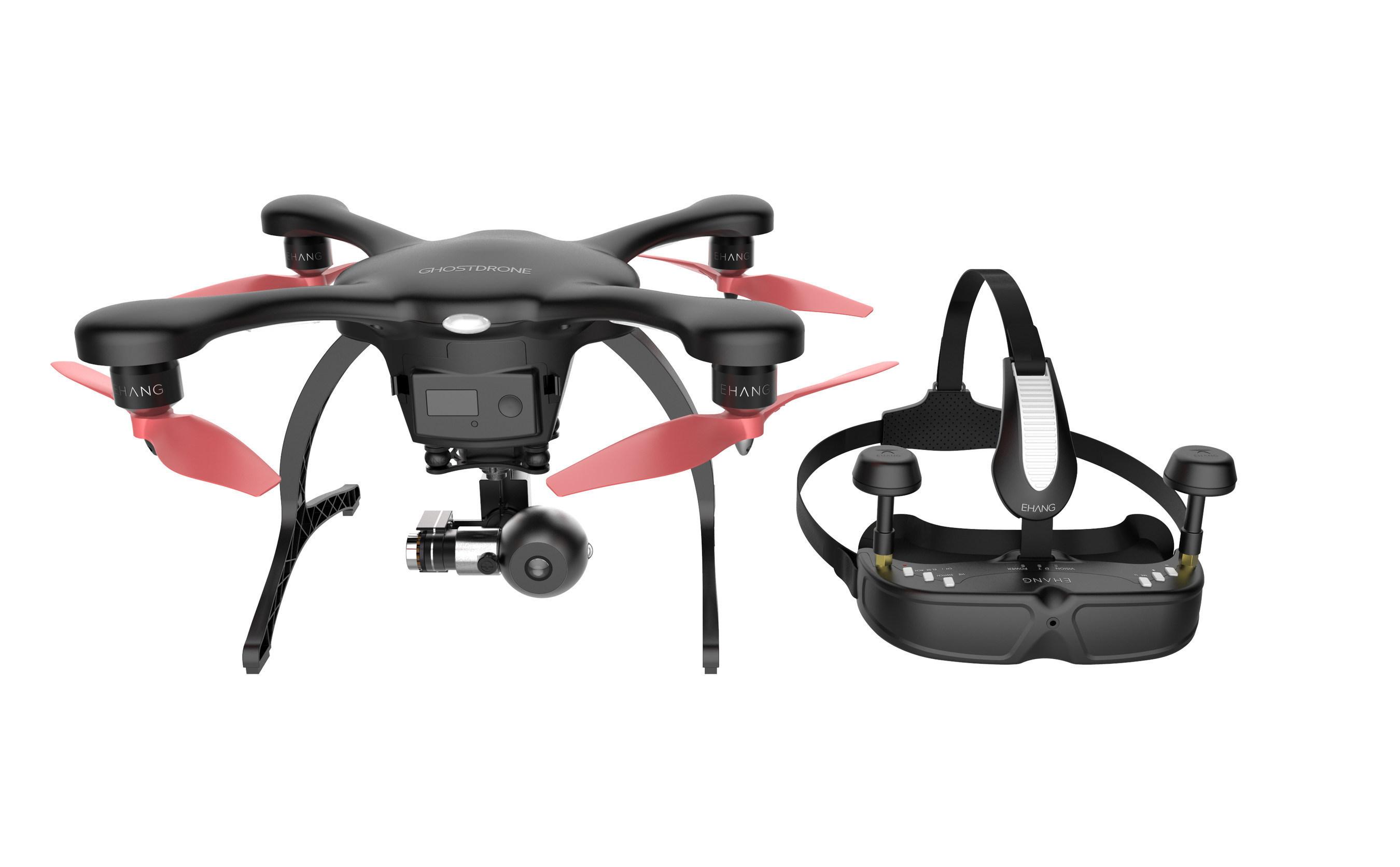 EHang's GHOSTDRONE 2.0 Drone