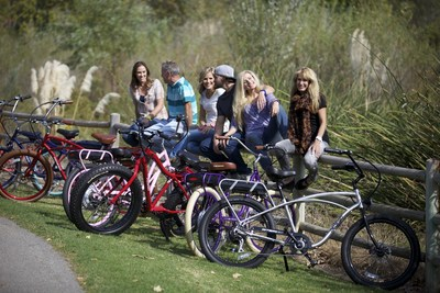 Pedego Electric Bikes ranks Number 1311 on the 2014 Inc. 5000 in recognition of their exponential three-year sales growth (PRNewsFoto/Pedego Electric Bikes)