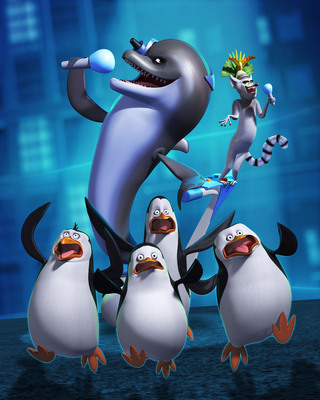 Nickelodeon premieres new The Penguins of Madagascar special Sept. 9.  (PRNewsFoto/Nickelodeon)
