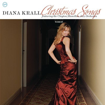 Diana Krall's classic holiday album, Christmas Songs, featuring The Clayton/Hamilton Jazz Orchestra, is available back on vinyl via Verve/UMe.