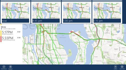 L'application INRIX Traffic dorénavant disponible sur Windows 8