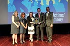 Mary Kay Inc. receives the Allied Professional Award from the U.S. Department of Justice for the company's long-term commitment to preventing and ending domestic violence at the National Crime Victims' Rights Service Awards held April 21, 2015 in Washington, D.C.