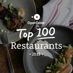 OpenTable Reveals 100 Best Restaurants in America