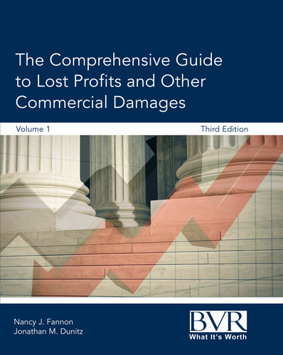 The Comprehensive Guide to Lost Profits and Other Commercial Damages, edited by Nancy Fannon and Jonathan Dunitz. (PRNewsFoto/Business Valuation Resources)