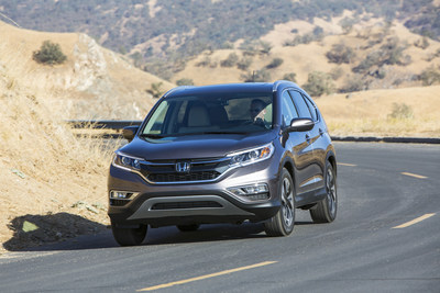 Honda's 2016 CR-V set a 2nd consecutive all-time sales record last month, helping Honda trucks to a new August record. (PRNewsFoto/American Honda Motor Co., Inc.)