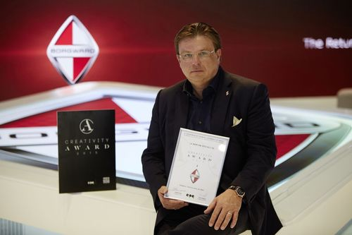 """Karlheinz L. Knöss, Vice President and CEO Borgward AG. Editorial use of this picture is free of charge. Please quote the source: """"obs/BORGWARD AG"""" (PRNewsFoto/BORGWARD AG)"""