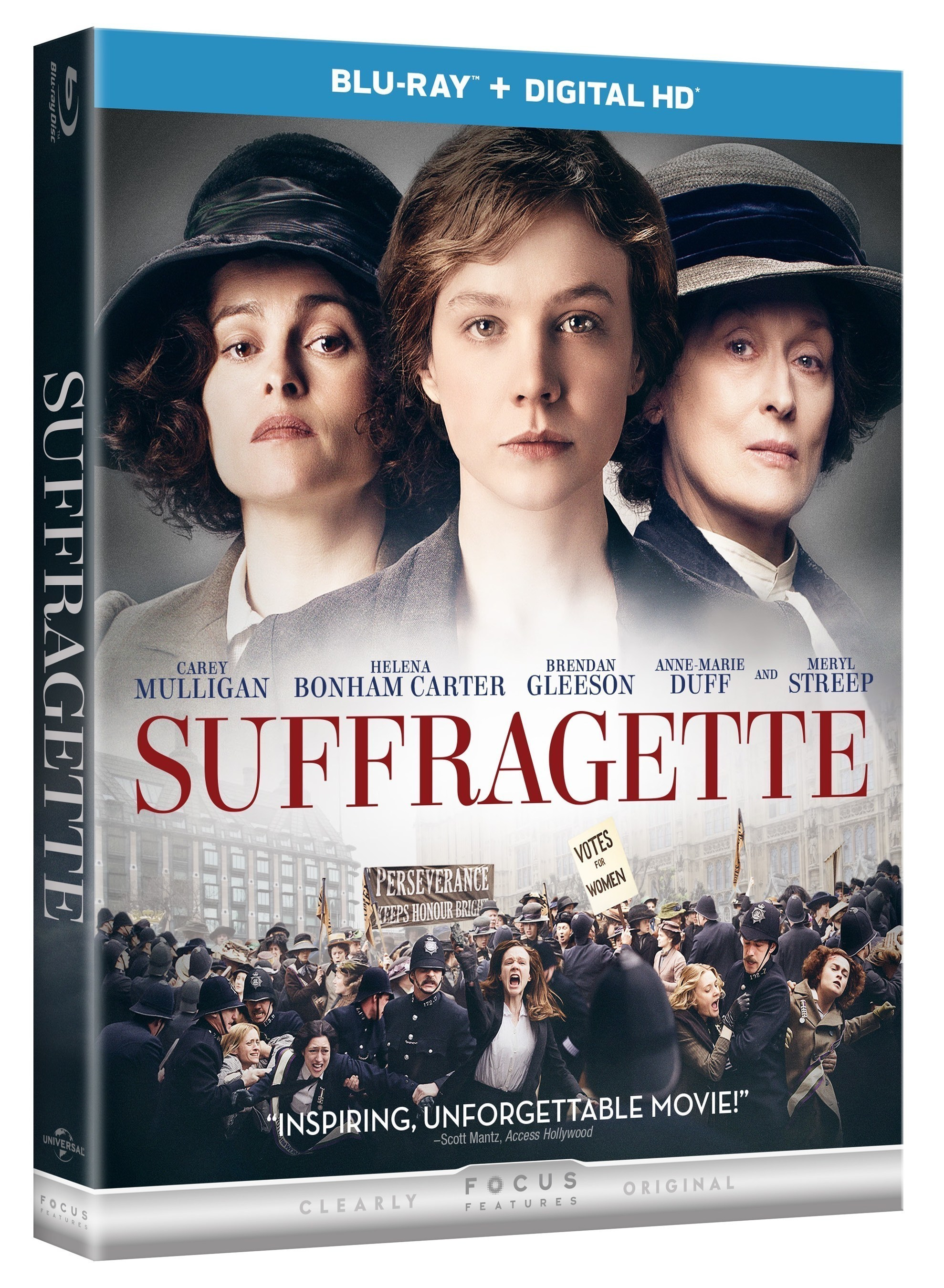 From Universal Pictures Home Entertainment: Suffragette
